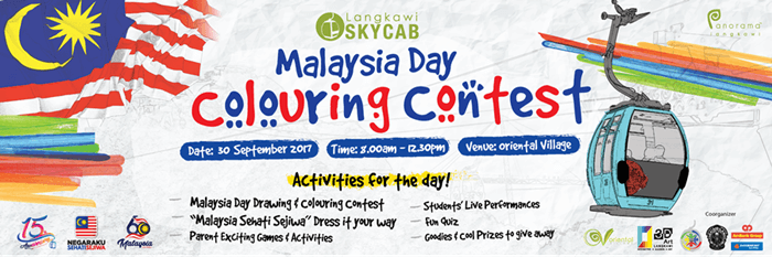 Malaysia Day Coloring Contest